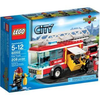 LEGO City Fire Truck Play Set
