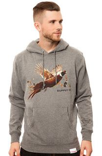 Diamond Supply Co. Sweatshirt Game Association Pt. 4 Hoody in Grey