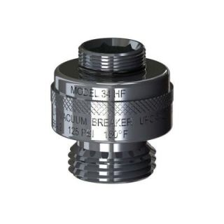 Woodford 13/16 in.   24 Special Threads x 3/4 in. Hose Thread Chrome Vacuum Breaker 34HF CH