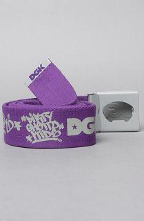 DGK The Classic 2 Scout Belt in Purple Grey
