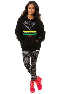 Diamond Supply Co. Hoody The 15 Years of Brilliance in Black