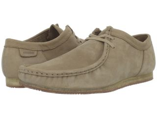 Clarks Wallabee Run Mens Lace up casual Shoes (Taupe)