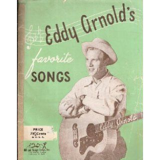 Eddy Arnold's Favorite Songs (Number 1) [Songbook] Eddy Arnold Books