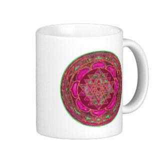 Sri Lakshmi Yantra Mandala Mug