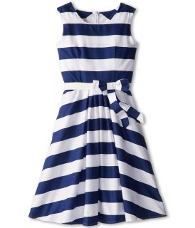 fiveloaves twofish Grammy Dress Girls Dress (Blue)
