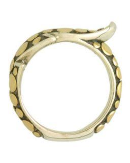 Ayu Petite Leaf Wrap Ring, Size 7