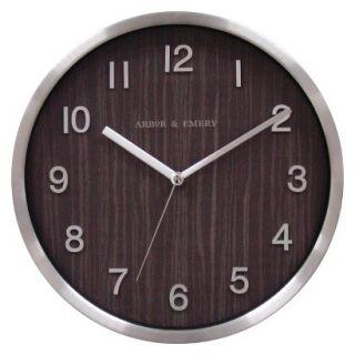 Threshold Metal Frame Wall Clock