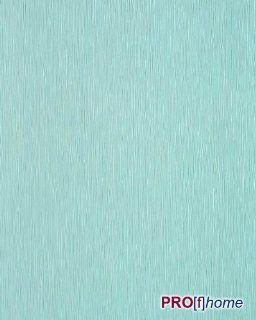 EDEM 118 26 Uni Tapete gestreift gute Laune Farbe hell türkis perlmutt Küche & Haushalt