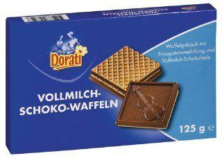 Dorati Schokowaffeln Vollmilch, 15er Pack (15 x 125 g Packung): Lebensmittel & Getränke