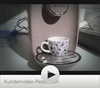 Tchibo Cafissimo PICCO Kaffeekapselmaschine, Sand Beach Küche & Haushalt