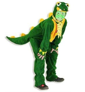 Kostüm Kroki Krokodil für Kinder Tierkostüm Overall Fasching Karneval Party GR 116: Spielzeug