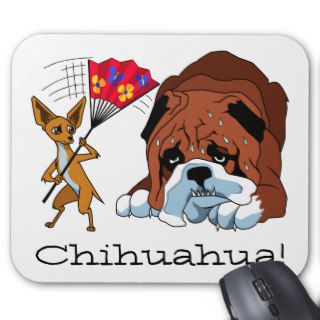 Cartoon Chihuahua 725 Mouse Mat