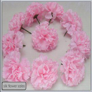 144 Baby Rosa Nelken Picks Kunstblumen Seidenblumen Hochzeit Knopfloch Blumen: Küche & Haushalt