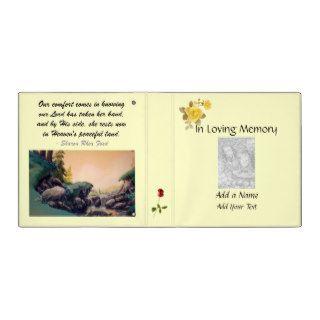 In Loving Memory Memorial Binder by SRF