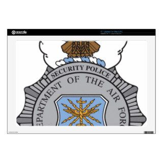 United States Air Force Security Forces Decal For Laptop