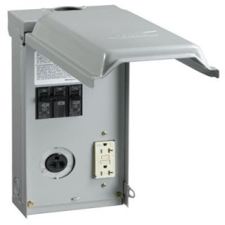 GE 40 Amp Temporary Power Outlet Box U036C010P