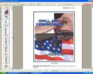U.S. Army FM 3 21.5 Drill And Ceremonies Manual Of Arms For   M4, M14 Carbine, M16, M1903, M1917, Rifle, Sword and Saber Drills, Parades, Funerals, Colors, Honor Guards, Retreats & Reveilles Field Manual Guide Book on CD ROM