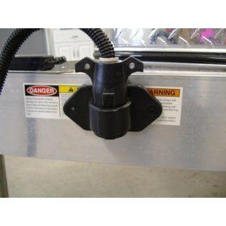 Boat RV Camper Trailer 7 Way Light Wire Plug Holder Automotive