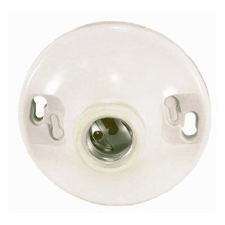 Satco Keyless Phenolic Ceiling Receptacle With Screw Terminals model number 90 480 SAT Camera & Photo