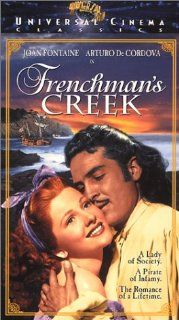 Frenchman's Creek [VHS]: Joan Fontaine, Arturo Decordova, Basil Rathbone, Mitchell Leisen: Movies & TV