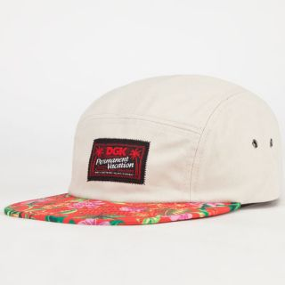 Permanent Vacation Mens 5 Panel Hat Khaki One Size For Men 232834415