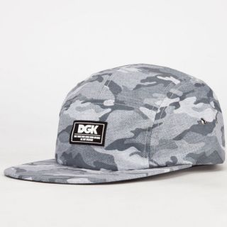 Covert Mens 5 Panel Hat Grey One Size For Men 232833115