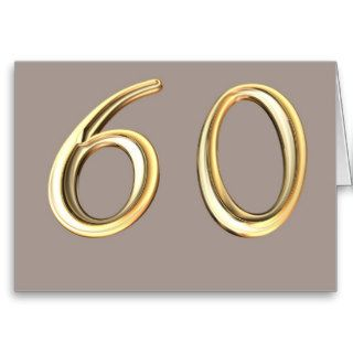 Happy 60th Birthday sixties sixty 60 60th Cards