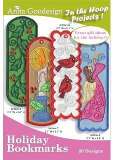 Anita Goodesign Embroidery Designs Cd Lace Bookmarks: Arts, Crafts & Sewing