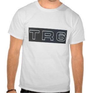 Triumph TR6 Grill Badge T Shirts