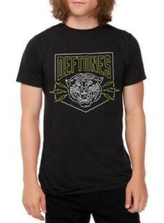 Deftones Tiger T Shirt 4XL Size  XXXX Large at  Men�s Clothing store