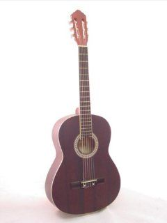 """NEW 40"""" DARK CHERRY Classical Acoustic Guitar PRO MODEL Musical Instruments"""