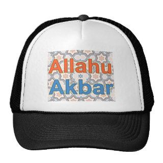 Allahu Akbar Trucker Hats
