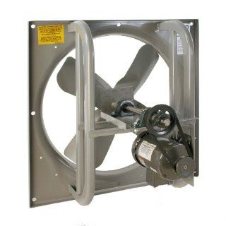 "Airmaster 42711 High Pressure Belt Drive Fan, Single Speed, Totally Enclosed, 3 Phase, 36"" Prop Diameter, 230/460V, 1HP Motor Industrial & Scientific"