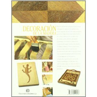 DECORACION DE LA MADERA (Spanish Edition): Parramon: 9788434222823: Books
