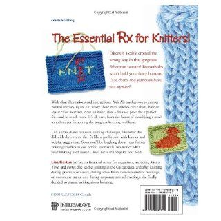 Knit Fix: Lisa Kartus: 9781596680111: Books