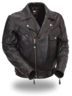 First MFG XPERT Performance� Men's Brando Motorcycle Jacket. Full Featured. XPM286NKDZ: Automotive
