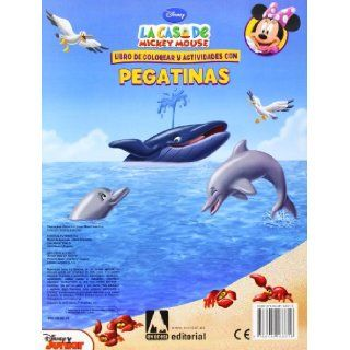 La Casa de Mickey Mouse. Bienvenidos a la playa. Libro de colorear y actividades con pegatinas: 9788444168616: Books