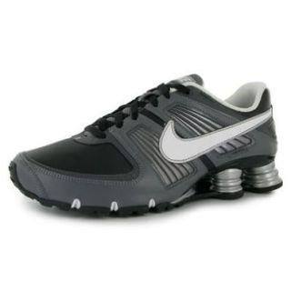 Nike Shox Turbo XI SL Mens Running Shoes [414941 003] Black/Metallic Summit White Cool Grey Dark Grey Mens Shoes 414941 003 9.5 Shoes