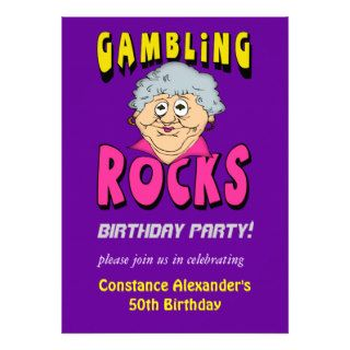 Invitaciones de juego para mujer del cumpleaños de