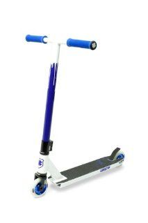 Lucky Crew Pro Scooter, White/Blue : Sports Kick Scooters : Sports & Outdoors