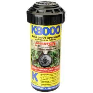 K Rain K8000 Professional Pop Up Gear Drive Sprinkler 81031