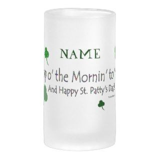 Happy St. Patty's Day (1b)   Personalize   Stein Mugs
