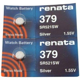 #379 Renata Watch Batteries 2Pcs Watches