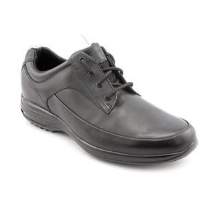 Rockport Men's 'City Routes CR MG' Black Leather Casual Shoes Rockport Oxfords