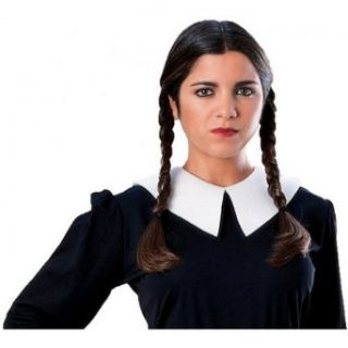 The Addams Family Wednesday Wig Adult: Clothing