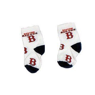 Boston Red Sox Baby Socks : Baseball And Softball Uniform Socks : Clothing