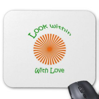 Unique anti pro ana websites mouse pad