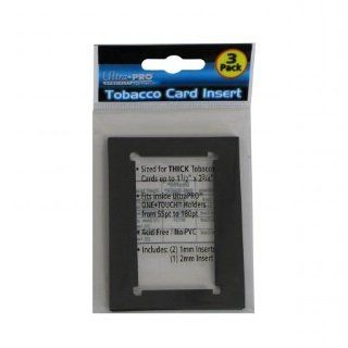 Ultra Pro Tobacco Card Inserts (3 Pack)  Sports Related Trading Card Sleeves  Sports & Outdoors
