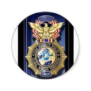 Air Force Security Police GWOT Stickers