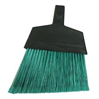 Magnolia Brush 465 Large Angle Broom, Flagged Plastic Bristles, Green (Case of 12) Industrial & Scientific